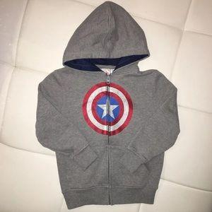 Captain America Hoodie Sweatshirt